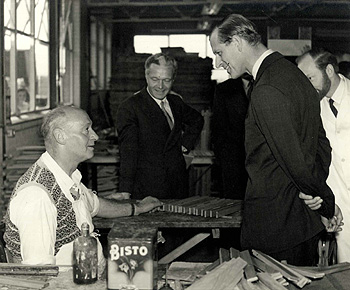 The visit of Prince Philip in 1956 [X772/5/3/7]